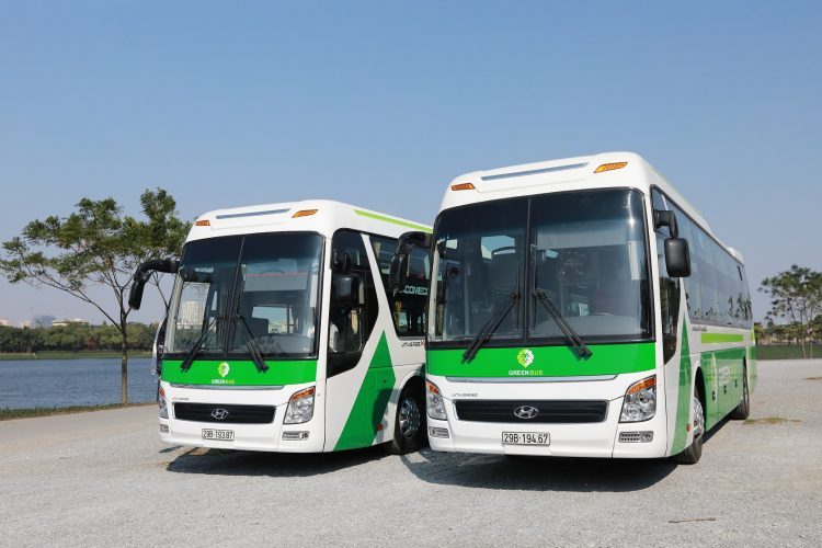 Green Sapa bus
