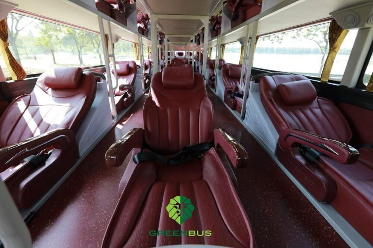 Sapa Green bus inside